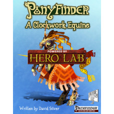 Ponyfinder - A Clockwork Equine Hero Lab Extension