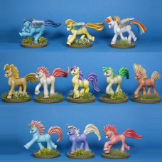 Miniature Ponies - String of Ponies 1