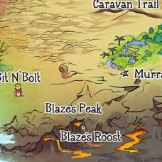 Cloth Map(56x36)